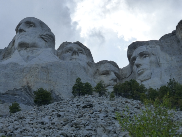 Our trip to the Northwest included some great sites, like Mt. Rushmore.