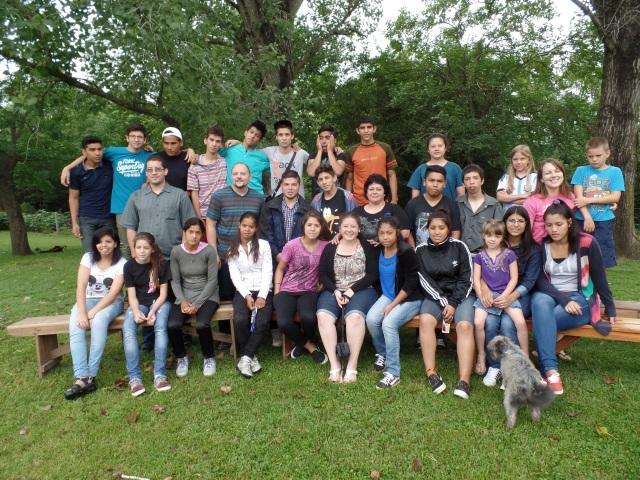 Our group from Iglesia Bautista Calvario