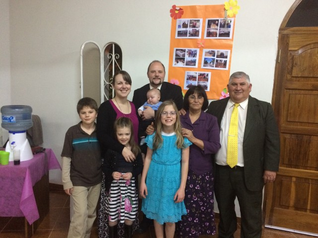 With Pastor Carlos and Norma Cejas at their church's anniversary.